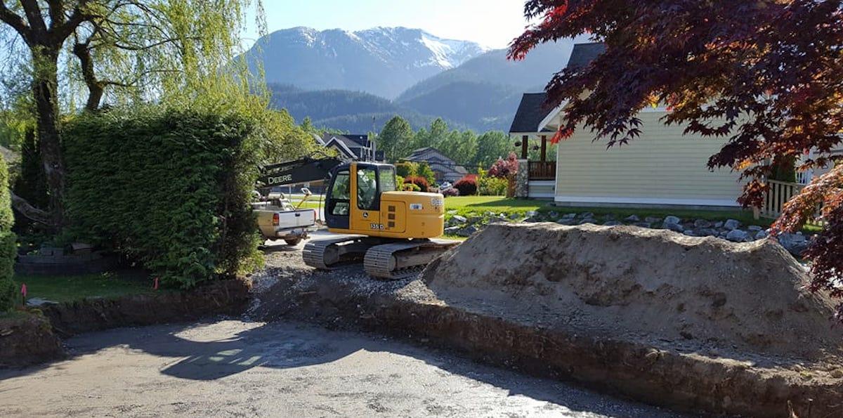 Squamish Site Preparation